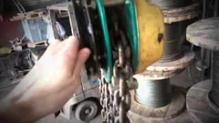 Проверка тали(Таль не держит груз., 2014-05-23T04:30:23.000Z)