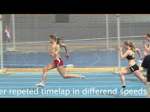 slow motion Dafne Schippers