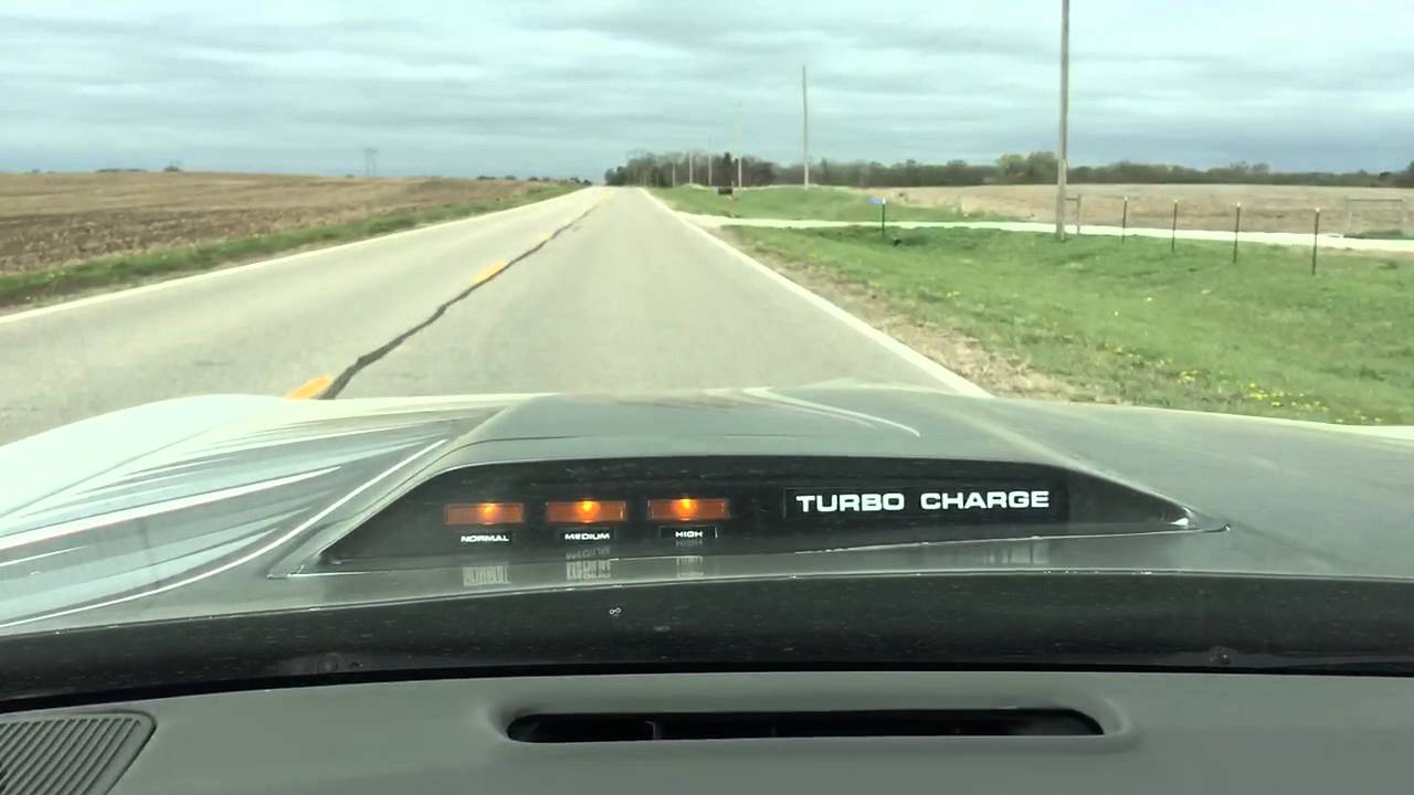 1980 Trans Am with 301 Turbo acceleration