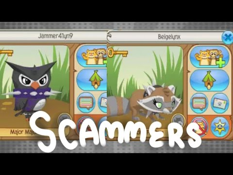 Auto Accept + Trust Trade Scammer | Scammer Watch Animal Jam