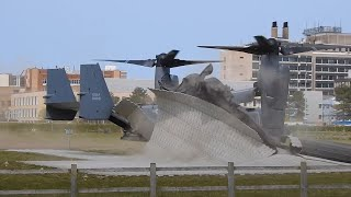 US military aircraft damages major UK hospital's helipad during training exercise