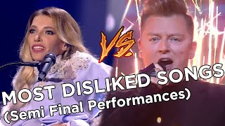 Eurovision - Most Disliked Songs in Semi Finals - Top 50 (2012 - 2021), 2021 update