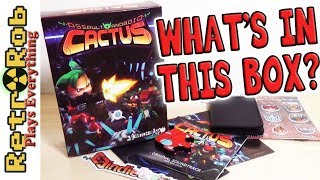 IndieBox Game Unboxing: Assault Android Cactus with STUFF!