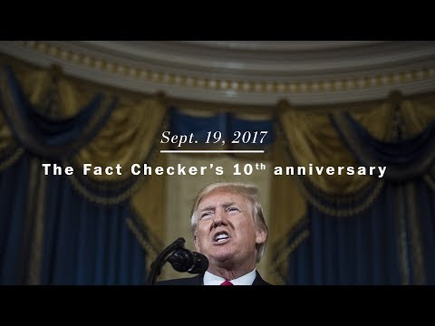 The Fact Checker's 10th anniversary
