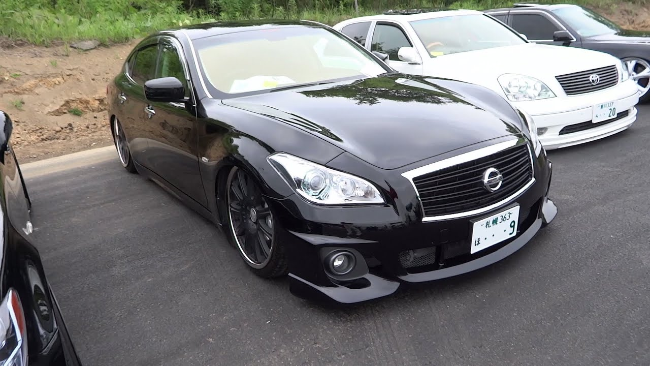 Nissan Fuga Y51 Custom Car 日産 フーガ Y51型 カスタムカー Youtube