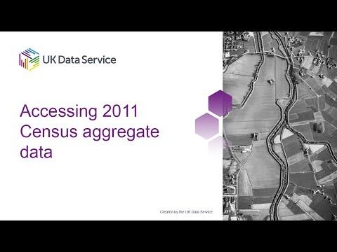Accessing 2011 Census aggregate data