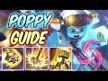 HOW TO PLAY POPPY JUNGLE GUIDE Hail of Blades Build & Runes | Diamond Commentary | League of Legends