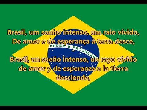 Himno nacional del Brasil - Brazilian National Anthem (PT/ES letra)