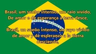 Baixar Himno nacional del Brasil - Brazilian National Anthem (PT/ES letra)