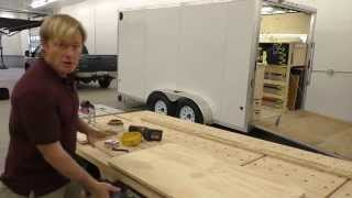 Building & Laminating A Table Top: Part 1
