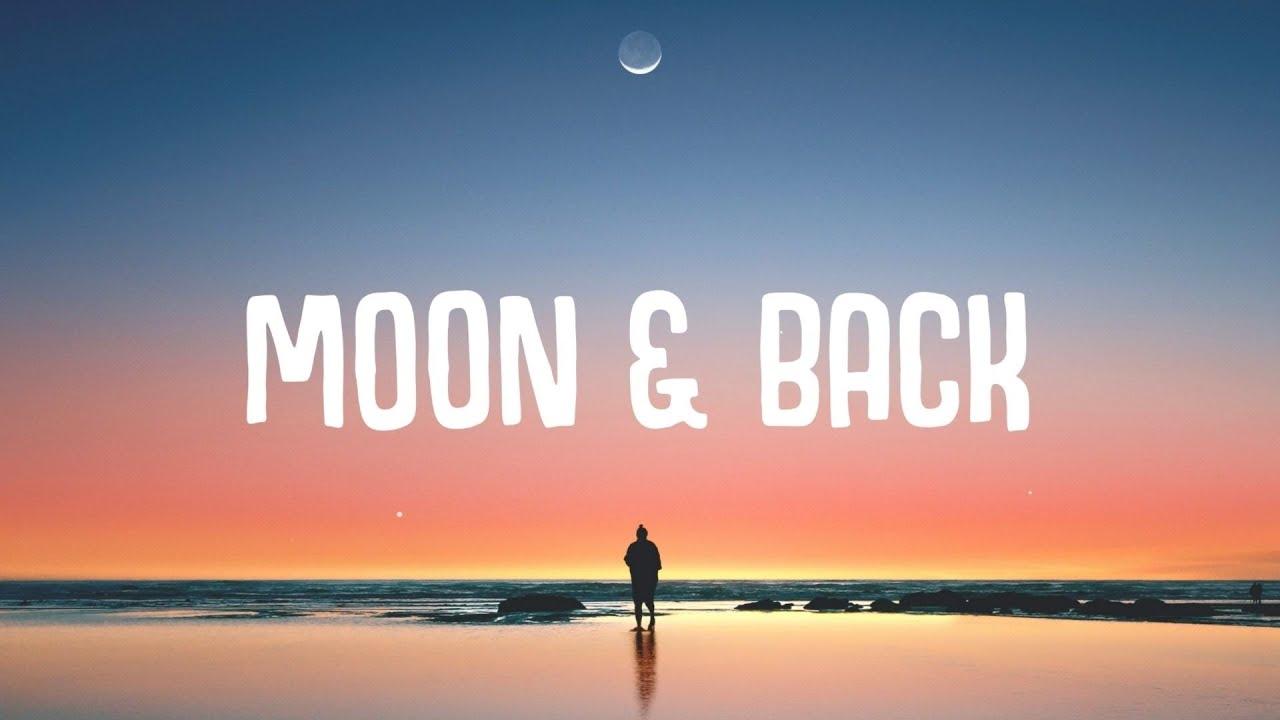 M A I S Ø N & CILVR - Moon & Back (Lyrics)