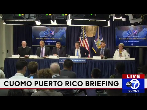 Gov. Cuomo announces program for displaced Puerto Ricans