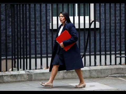 Future in doubt, British aid minister deals further blow to May