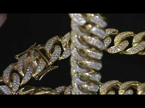 "20mm .925 Hand Set Miami Cuban Link Review"" Premier Collection"""