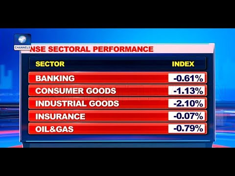 'Blood-letting' On NSE As Stocks Trend In The Negative Territory |Business Morning|