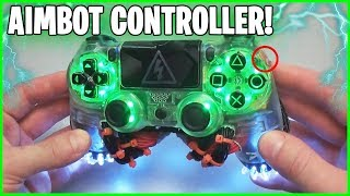 I use an AIMBOT CONTROLLER in Fortnite!