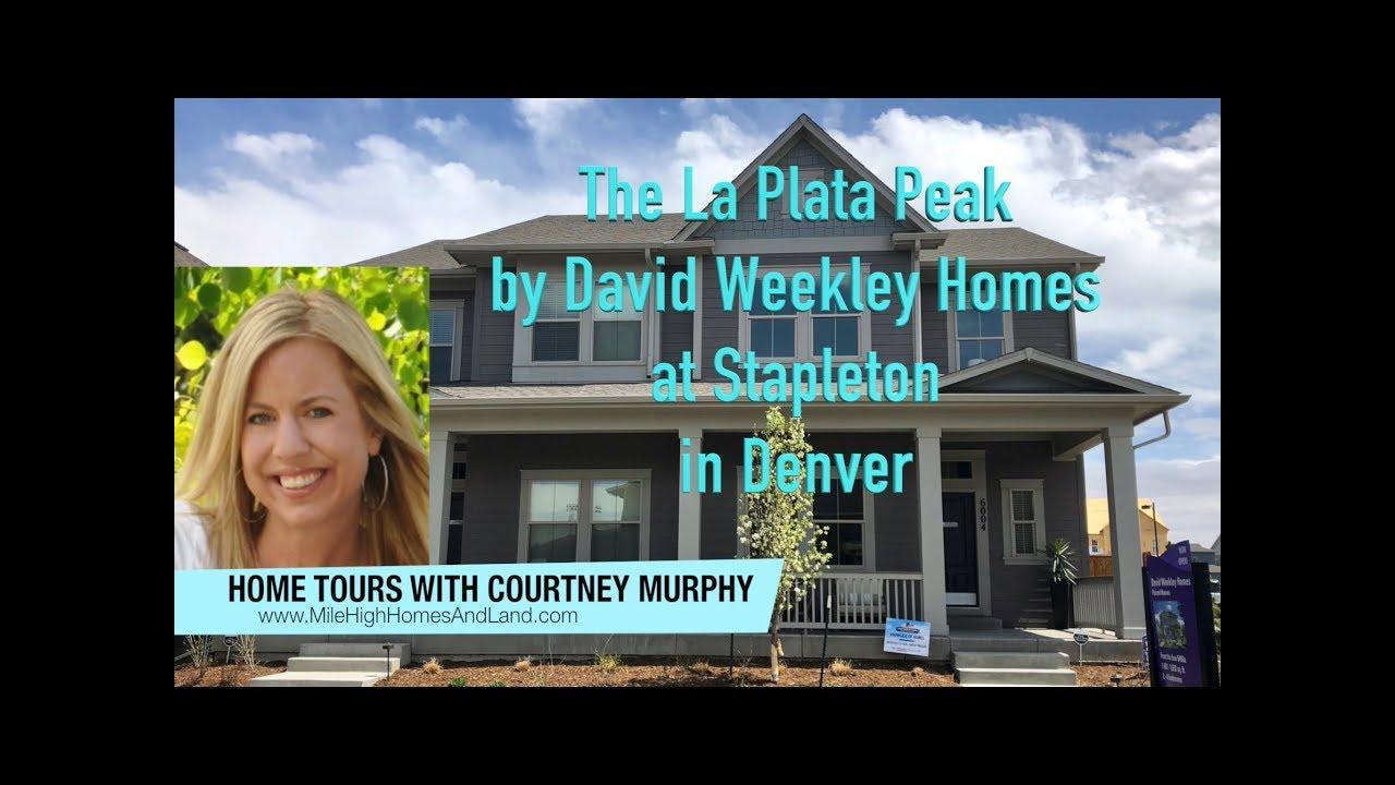 New Homes In Denver Colorado The La Plata Peak By David Weekley At