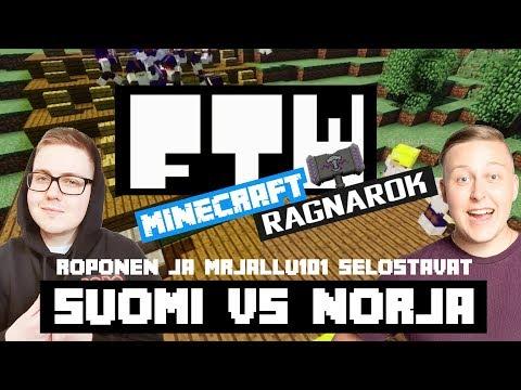 FTW: Minecraft - Ragnarok 2018 // MAAOTTELU