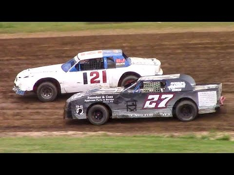 Pure Stock Heat One | McKean County Family Raceway | 7-3-18
