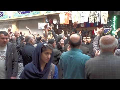 2016-0313 - Martyrdom of Fatima Observances in Tajrish Square, Tehran, Iran