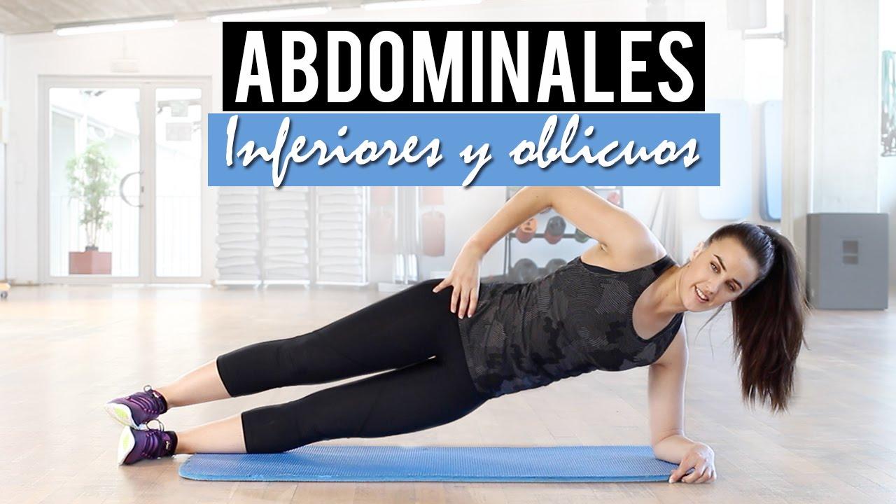 Ejercicios para desarrollar abdominales inferiores