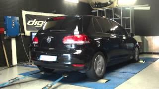 * Reprogrammation moteur * VW Golf 6 tdi 110cv @ 152cv dyno digiservices