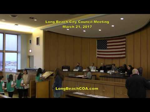 Long Beach City Council Meeting 03/21/17