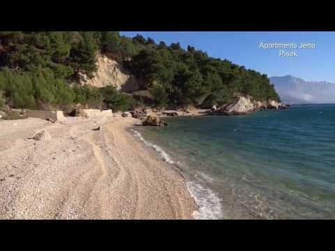 Beach in Pisak, last one in zapadna ulica