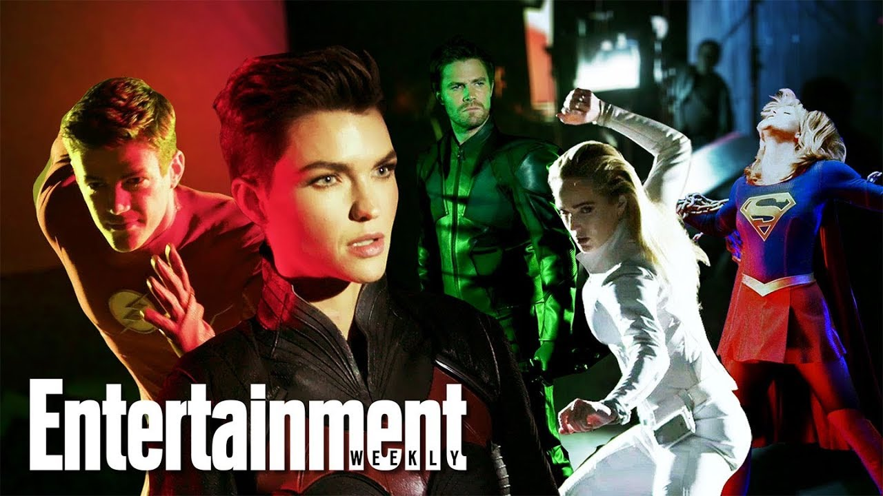 Download Arrowverse Reunion With Ruby Rose, Grant Gustin & More | Cover Shoot | Entertainment Weekly