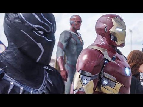 Captain America 3 Civil War Trailer 2 (2016) Super Bowl Spot Marvel Superhero Movie HD