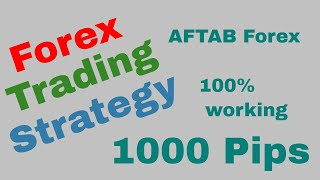 Forex Trading Strategy that works | Part 01