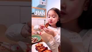 에어프라이어로 구운 닭날개 먹방