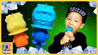 뽀로로 아이스바 만들기 장난감 놀이 Pororo Icebar Making Toy & Play [제이제이튜브 - JJ tube]