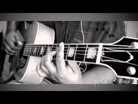 ★ Az Yet - Every Woman Guitar illustration with Chords (Kingdom Come)