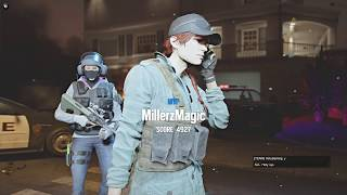 (2v2) DESTROYING NOOBS W/ HOTYGAMING!!! - Rainbow 6 Siege || Custom Game
