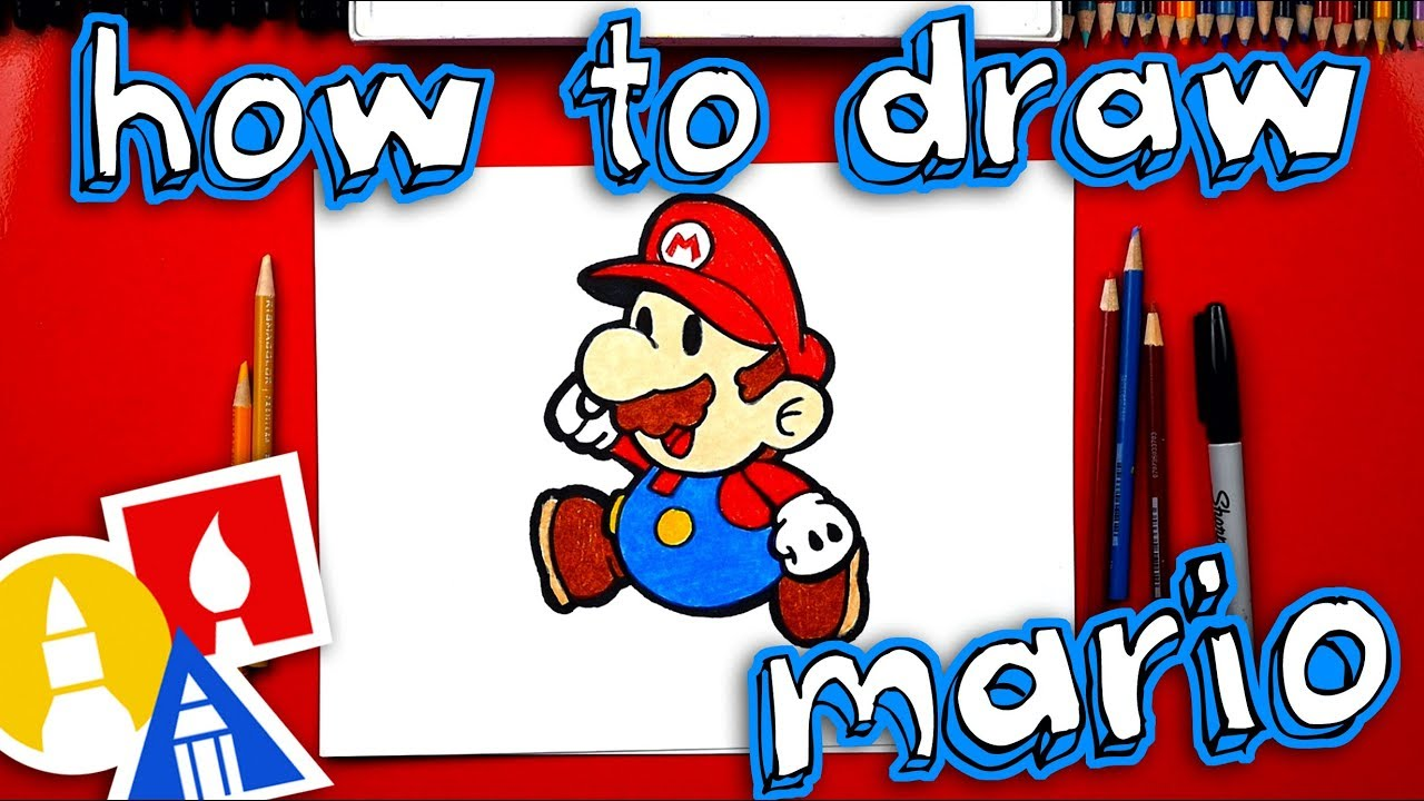 How To Draw Paper Mario Youtube