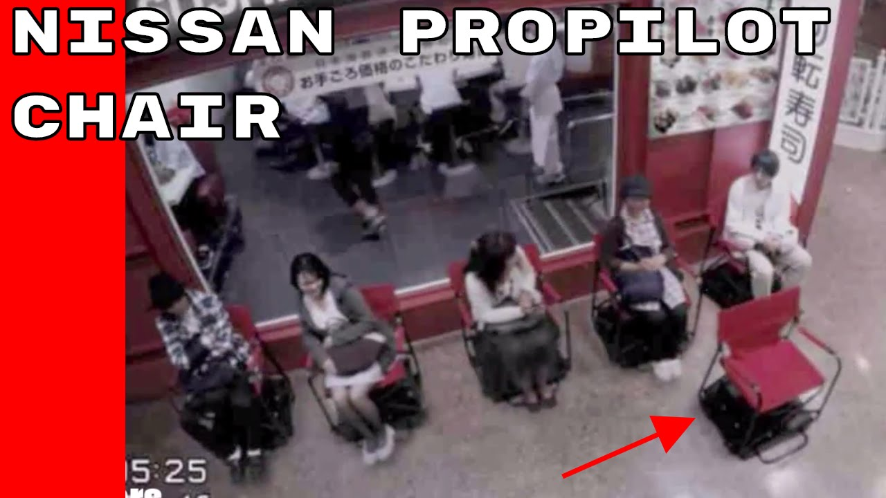 Youtube Video: Mobile Nissan ProPILOT Chair