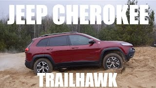 (ENG) Jeep Cherokee Trailhawk 2014 (KL) - Test Drive and Review
