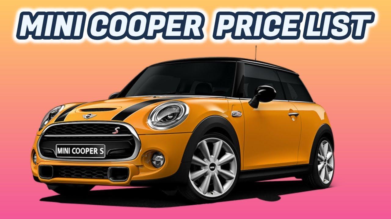 Mini Cooper Cars Price List Born Creator Youtube