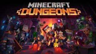 Minecraft Dungeons! Blind Playthrough!