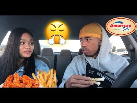 HOW MY LITTLE SISTER FEELS ABOUT HER BOYFRIEND! (EMOTIONAL) | AMERICAN DELI MUKBANG