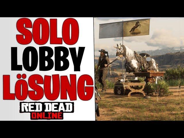 DIE LÖSUNG FÜR VIELE BUGS - Solo Lobby Fix & Glitch | Red Dead Redemption 2 Online News