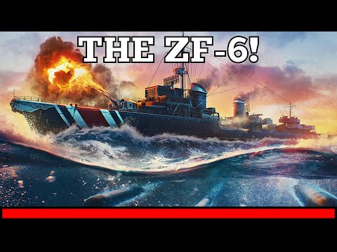 New Campaign Ship Announced!   The ZF-6   info in vid and description   World of Warships legends