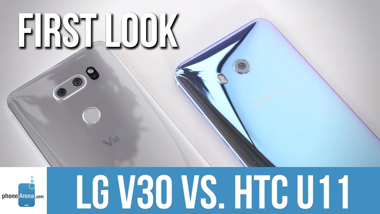 699a5783664 LG V30 vs HTC U11  first look. PhoneArena