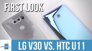 LG V30 vs HTC U11: first look