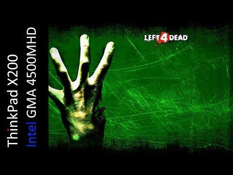 Left 4 Dead (Intel GMA 4500MHD)