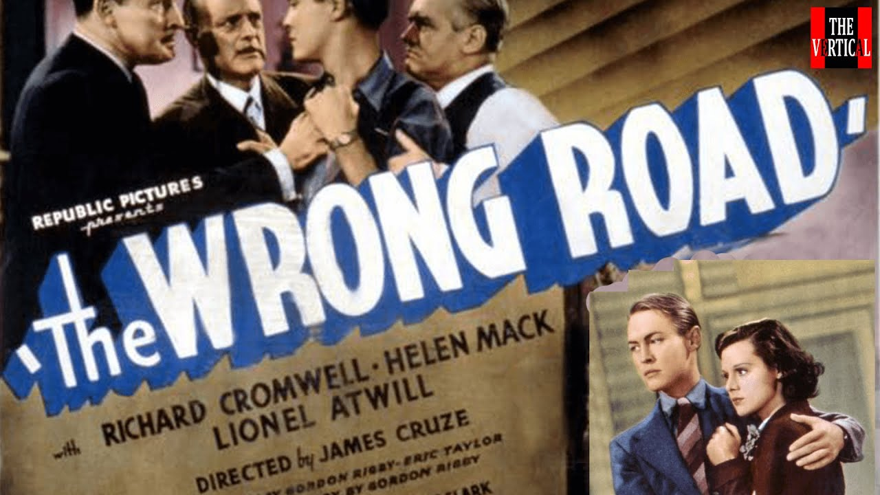 The Wrong Road (1937) Crime Drama Thriller Movies YouTube