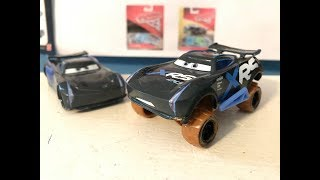 Disney Cars XRS Mud Racing Jackson Storm Review