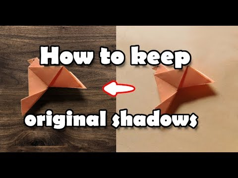 Keep The Original Shadows | GIMP 2.10 | thumbnail
