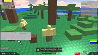 Roblox-survival404-tutorial-bow and arrow